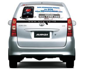 Cutting Sticker Mobil dan Car Branding di Jakarta