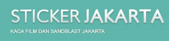 Cutting Sticker Jakarta